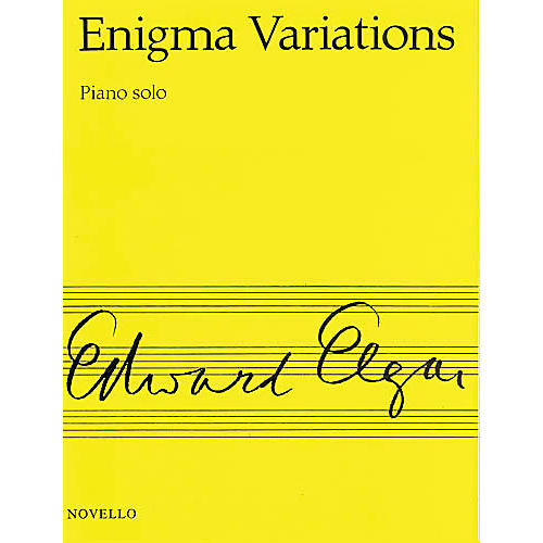 Novello Enigma Variations Op. 36 (for Piano) Music Sales America Series