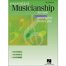 Hal Leonard Ensemble Concepts for Band - Fundamental Level Clarinet