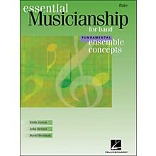 Hal Leonard Ensemble Concepts for Band - Fundamental Level Flute