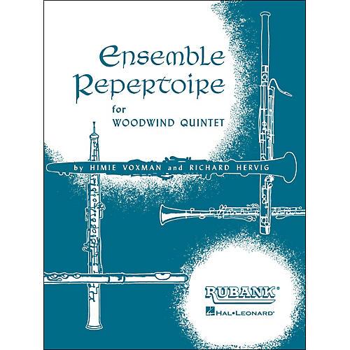 Hal Leonard Ensemble Repertoire for Woodwind Quintet B Flat Clarinet