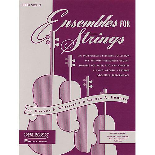Hal Leonard Ensembles For Strings - Piano Accompaniment String Series