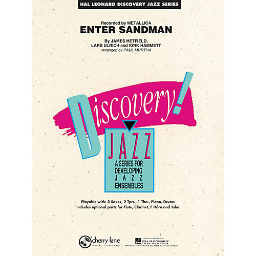 Hal Leonard Enter Sandman - Discovery Jazz Series Level 1.5