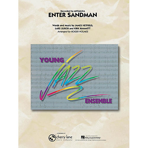 Cherry Lane Enter Sandman Jazz Band Level 3 Arranged by Roger Holmes