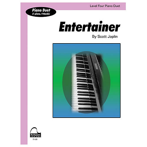 SCHAUM Entertainer (duet) Educational Piano Series Softcover