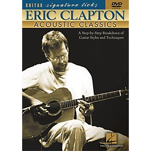 Hal Leonard Eric Clapton - Acoustic Classics DVD by Hal Leonard