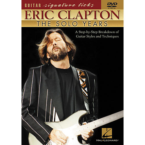 Hal Leonard Eric Clapton - The Solo Years DVD