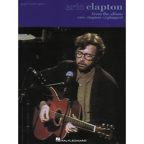 Hal Leonard Eric Clapton - Unplugged Songbook