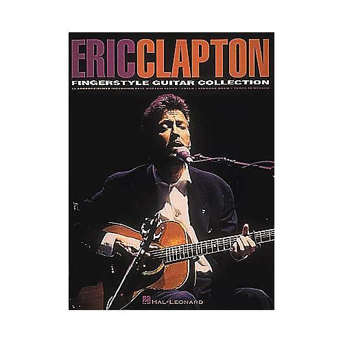 Hal Leonard Eric Clapton Fingerstyle Guitar Collection Book
