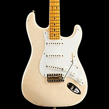 Fender Custom Shop Eric Clapton Journeyman Relic Signature Stratocaster with Maple Fingerboard Aged White Blonde
