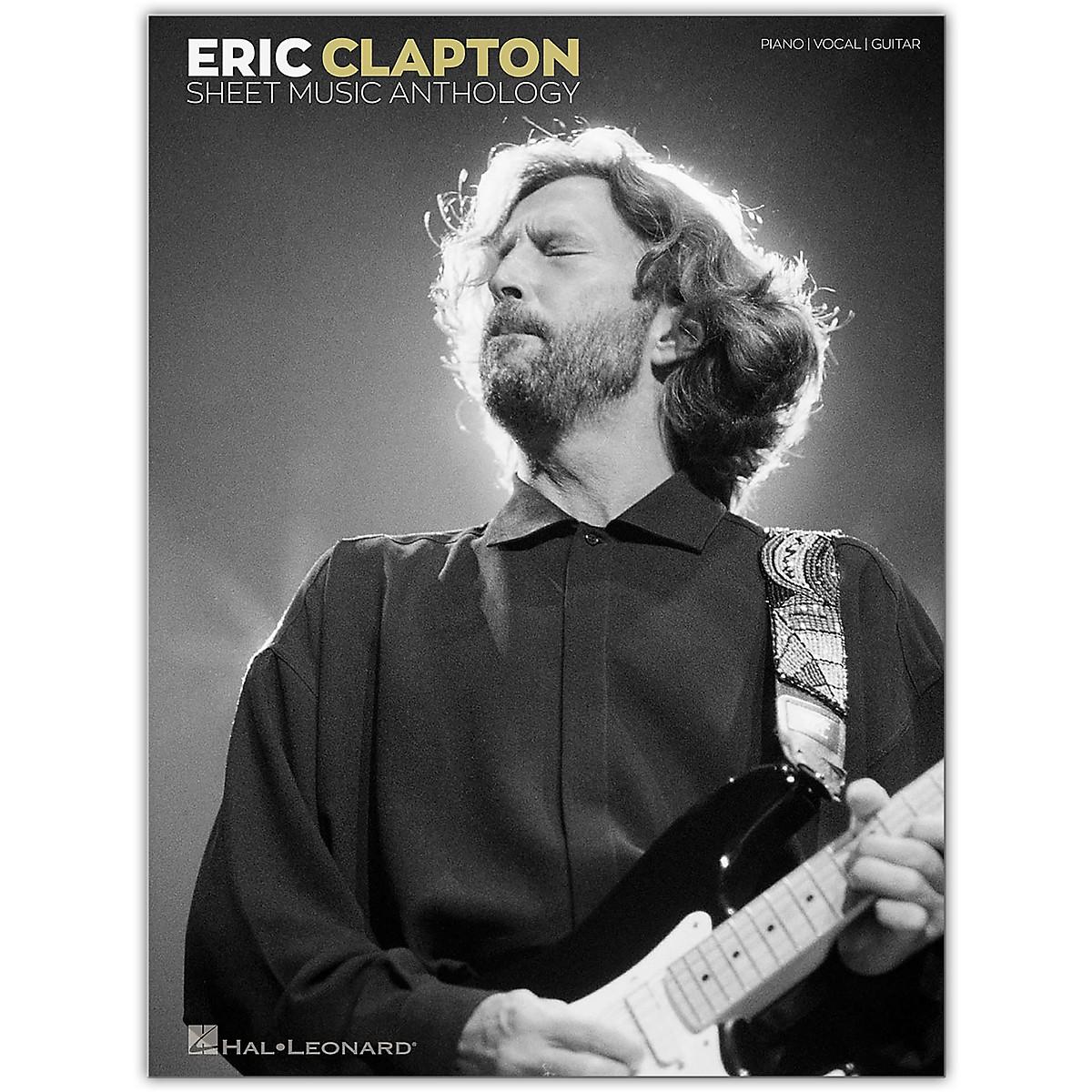 Hal Leonard Eric Clapton Sheet Music Anthology Piano/Vocal/Guitar Songbook