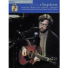 Hal Leonard Eric Clapton Unplugged Guitar Signature Licks Book with CD