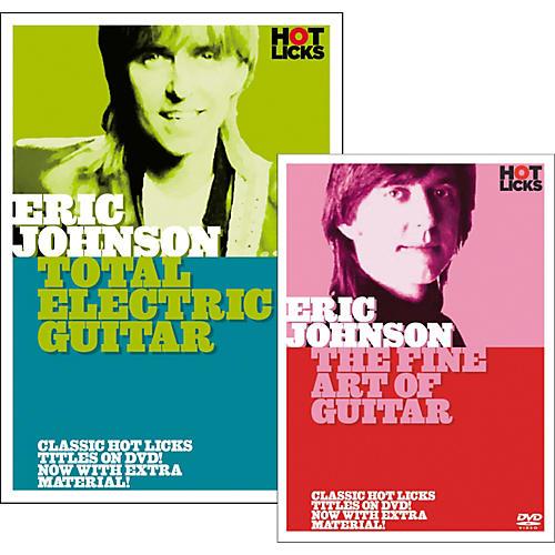 Hot Licks Eric Johnson Double Pack DVD