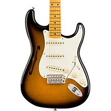 Eric Johnson Thinline Stratocaster Electric Guitar 2-Color Sunburst