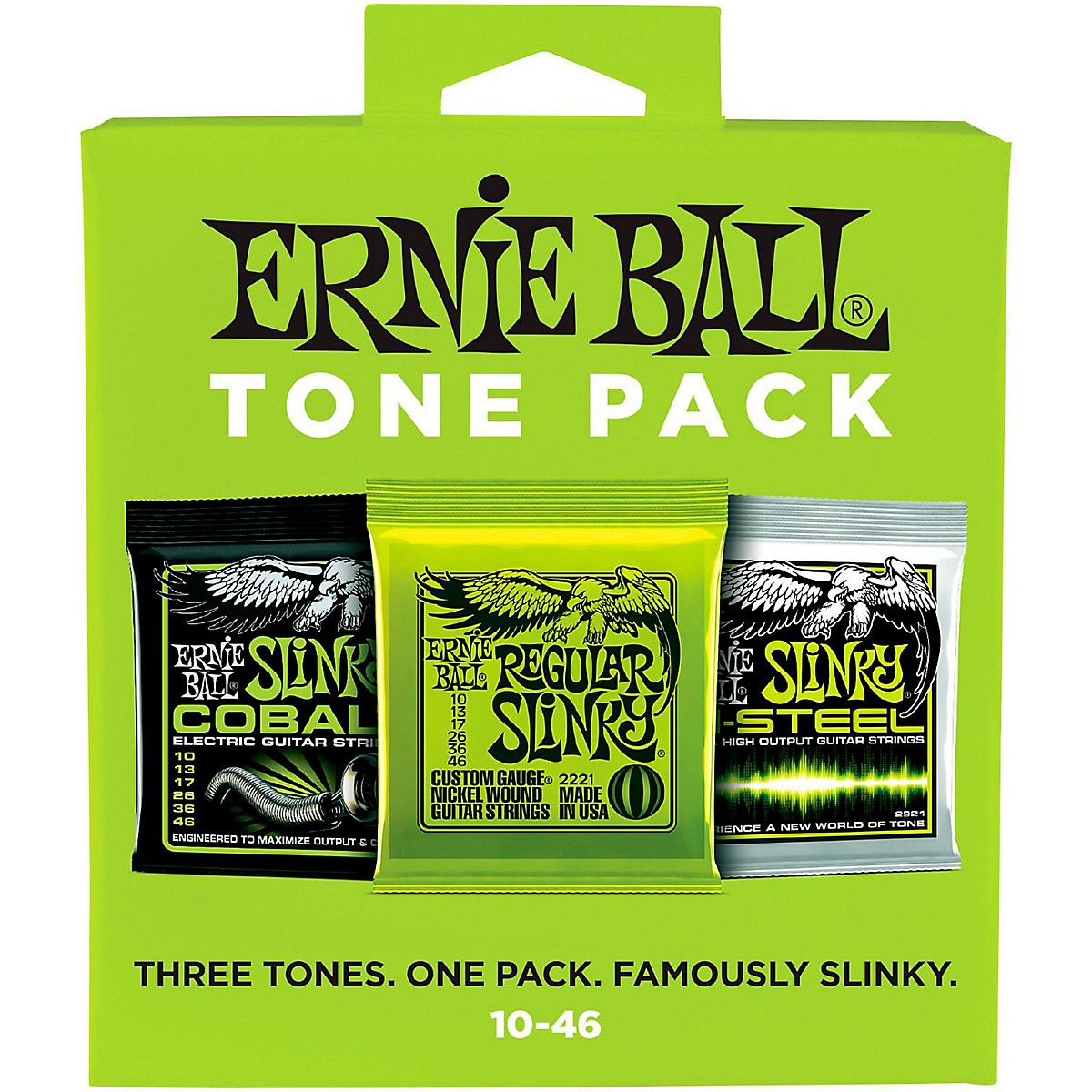 Ernie Ball Ernie Ball Regular Slinky Electric Guitar String Tone Pack