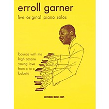 Criterion Erroll Garner - Five Original Piano Solos Criterion Series Softcover Performed by Erroll Garner