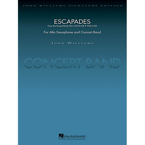 Hal Leonard Escapades (from Catch Me If You Can) Concert Band Level 5 Arranged by Stephen Bulla