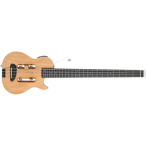 Traveler Guitar Escape MK-II Acoustic-Electric Travel Bass Guitar, Natural