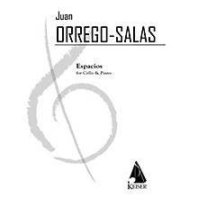 Lauren Keiser Music Publishing Espacios, Op. 115: A Rhapsody for Cello and Piano LKM Music Series Composed by Juan Orrego-Salas