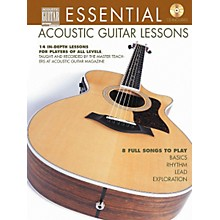 String Letter Publishing Essential Acoustic Guitar Lessons (Book/CD)