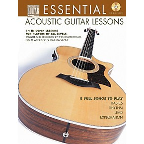 string letter publishing essential acoustic guitar lessons book cd guitar center. Black Bedroom Furniture Sets. Home Design Ideas