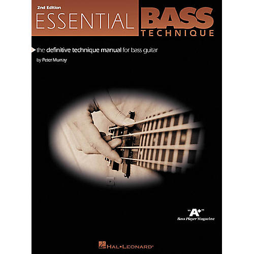 Hal Leonard Essential Bass Technique - 2nd Edition Book