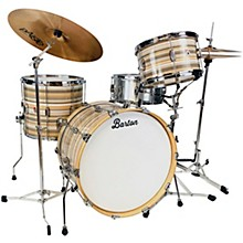 Essential Birch 3-Piece Shell Pack with 22 in. Bass Drum Saturno Bartex