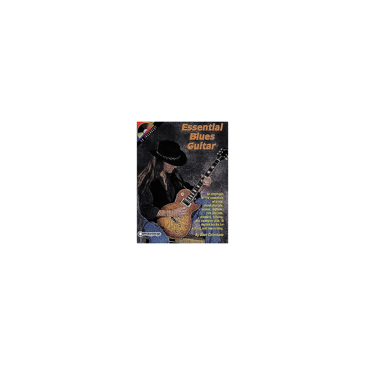 Centerstream Publishing Essential Blues Guitar Book/CD