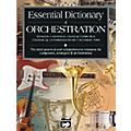Alfred Essential Dictionary of Orchestration Book thumbnail