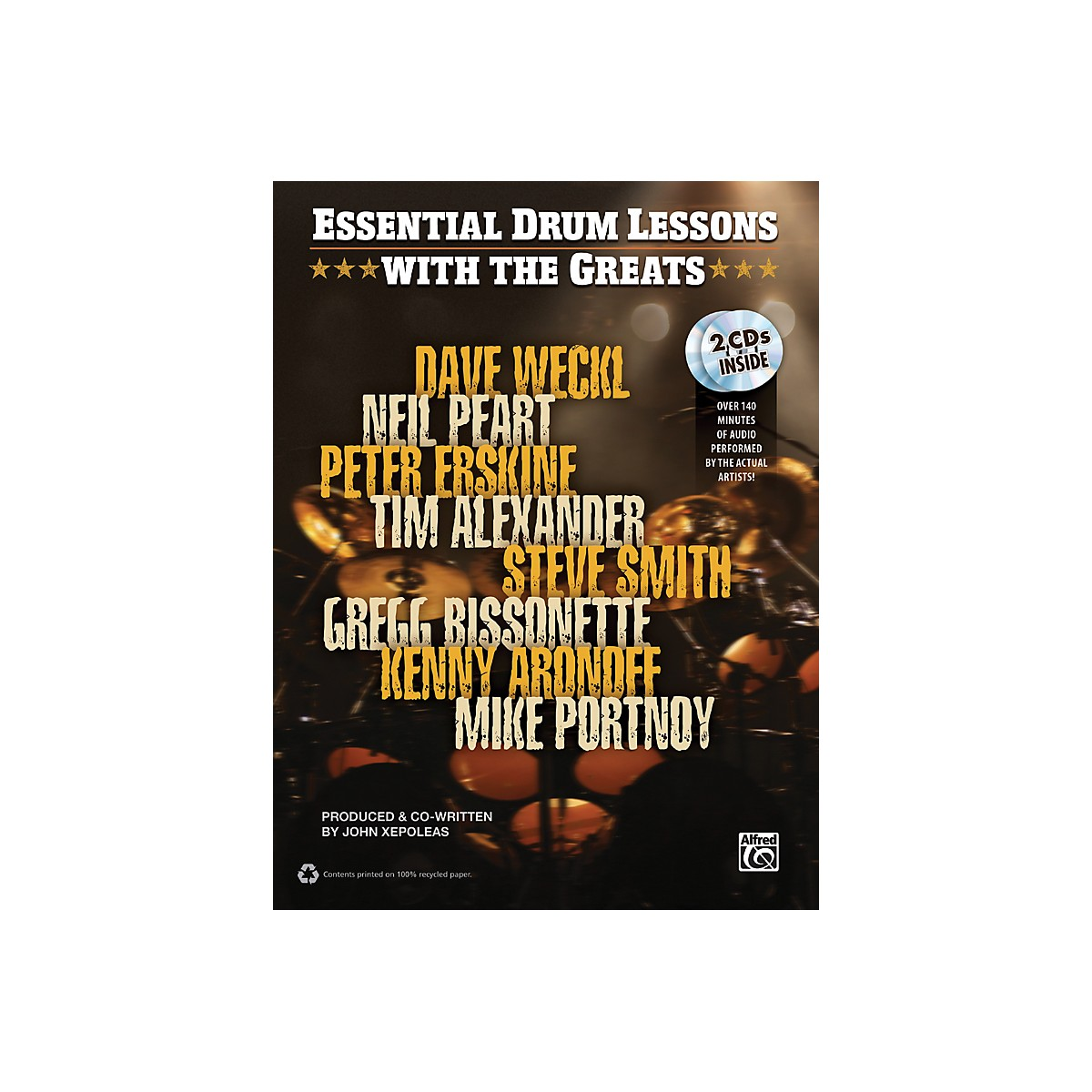 Alfred Essential Drum Lessons with the Greats Book & CD
