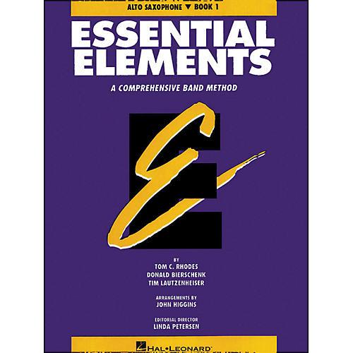 Hal Leonard Essential Elements Book 1 E Flat Alto Saxophone