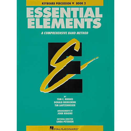 Hal Leonard Essential Elements Book 2 Keyboard Percussion