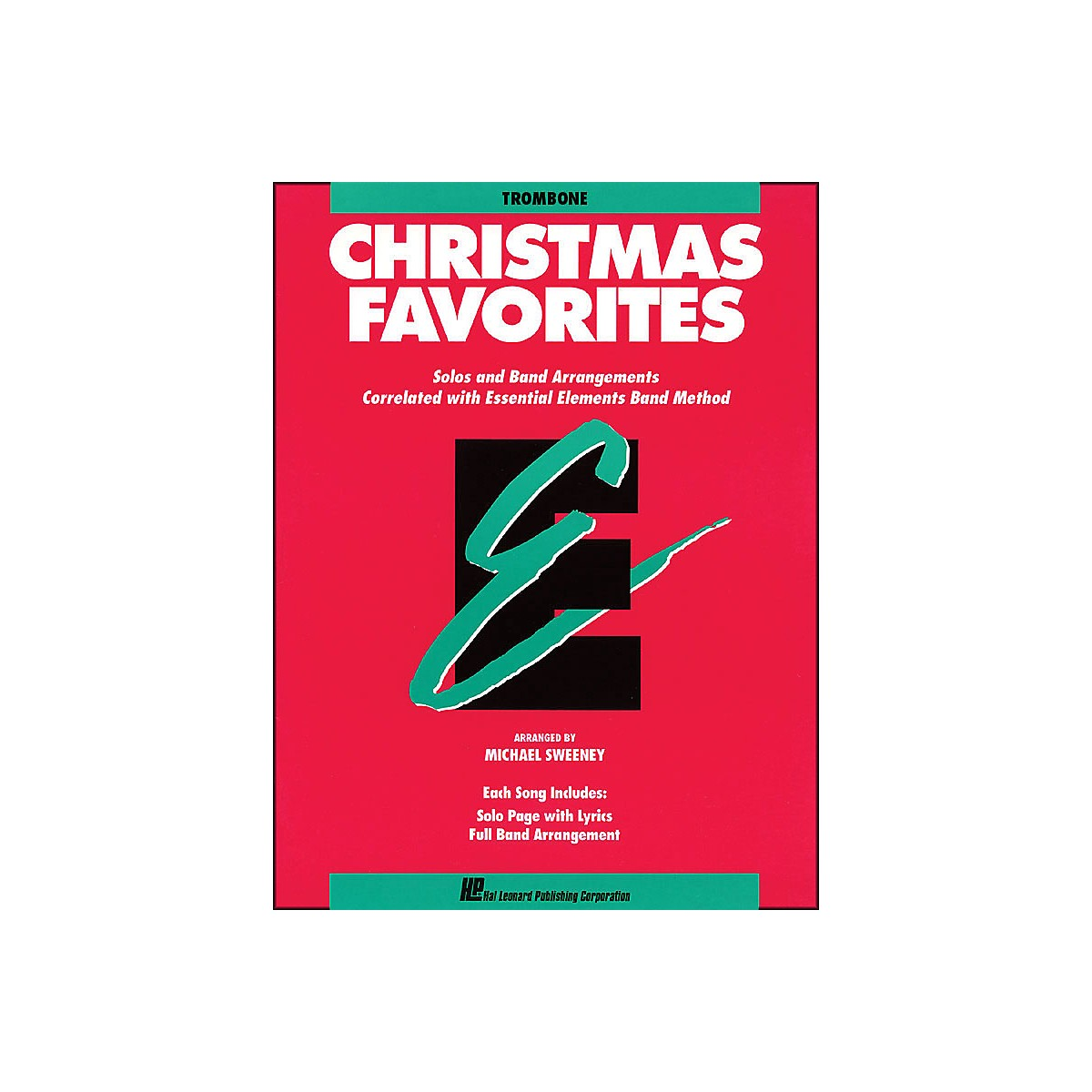 Hal Leonard Essential Elements Christmas Favorites Trombone