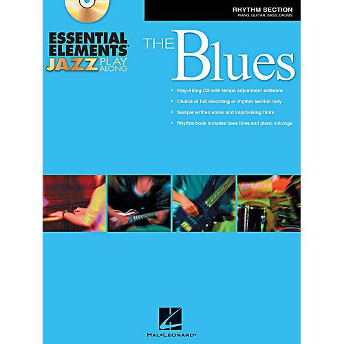 Hal Leonard Essential Elements Jazz Play-Along - The Blues (Rhythm Section) Book/CD