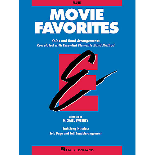 Hal Leonard Essential Elements Movie Favorites Concert Band Level 1-1.5 Arranged by Michael Sweeney