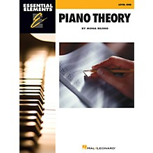Hal Leonard Essential Elements Piano Theory - Level 1 Educational Piano Library Series Softcover by Mona Rejino
