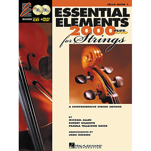 Hal Leonard Essential Elements Plus DVD for Strings Cello Book 1