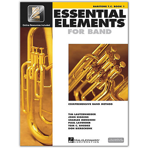 Hal Leonard Essential Elements for Band - Baritone T.C. 1 Book/Online Audio