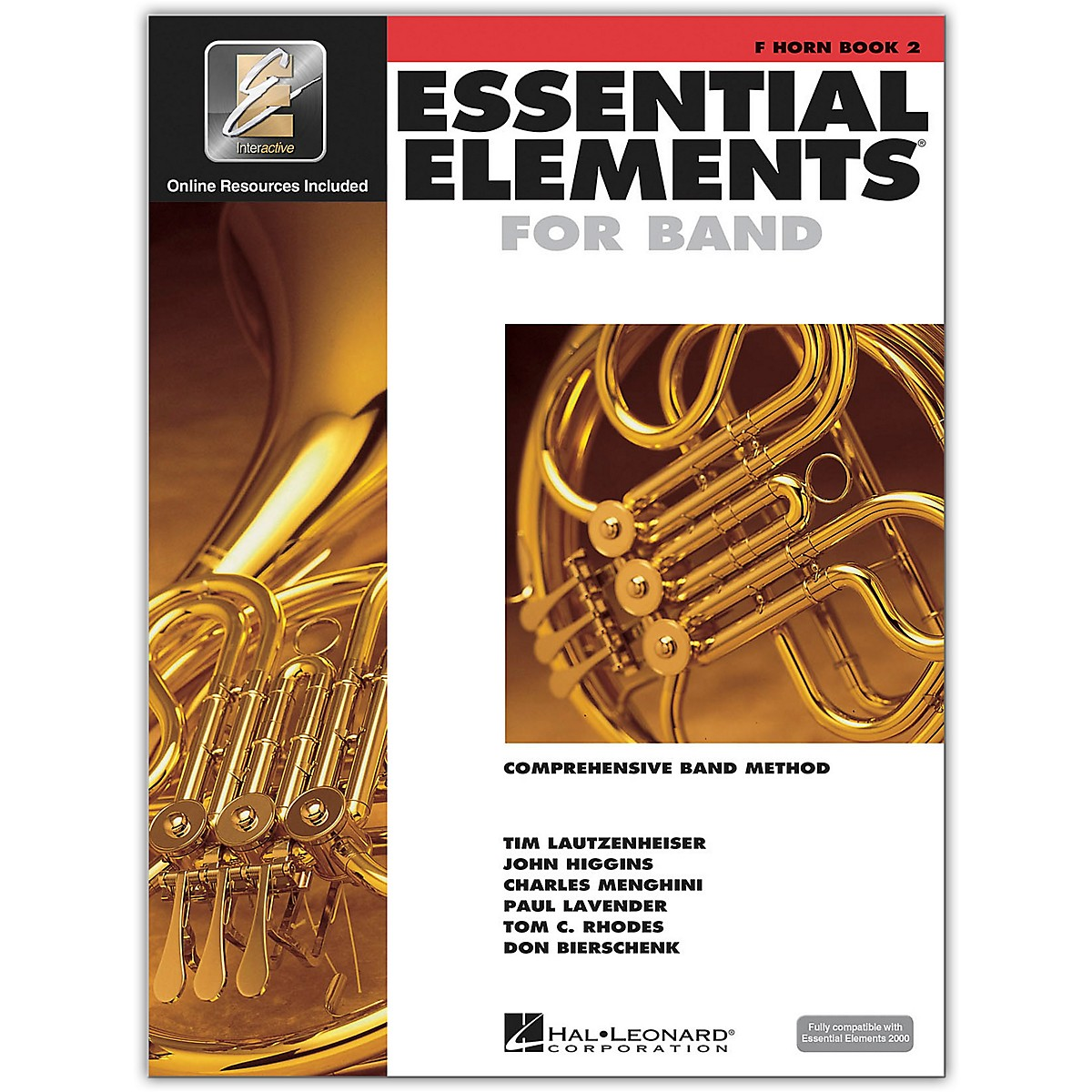 Hal Leonard Essential Elements for Band - French Horn 2 Book/Online Audio