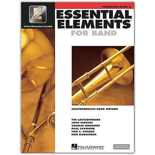 Hal Leonard Essential Elements for Band - Trombone 2 Book/Online Audio