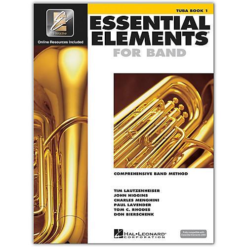Hal Leonard Essential Elements for Band - Tuba 1 Book/Online Audio