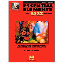 Hal Leonard Essential Elements for Jazz Ensemble - Bb Tenor Saxophone (Book/Online Audio)