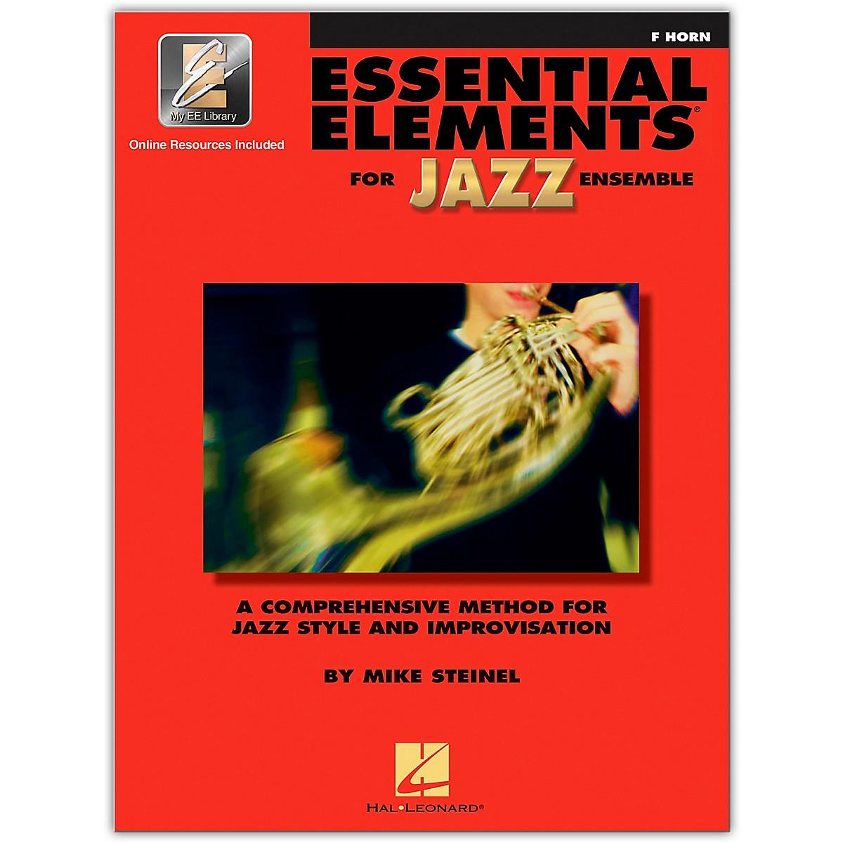 Hal Leonard Essential Elements for Jazz Ensemble - French Horn (Book/Online Audio)