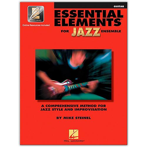 Hal Leonard Essential Elements for Jazz Ensemble - Guitar (Book/Online Audio)