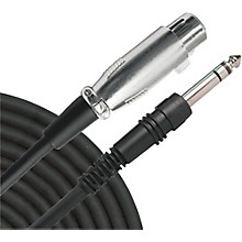 """Livewire Essential Interconnect Cable 1/4"""" TRS Male to XLR Female"""