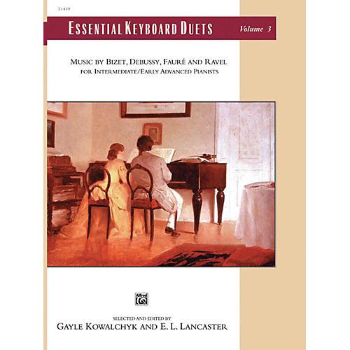 Alfred Essential Keyboard Duets, Volume 3 Intermediate / Early Advanced