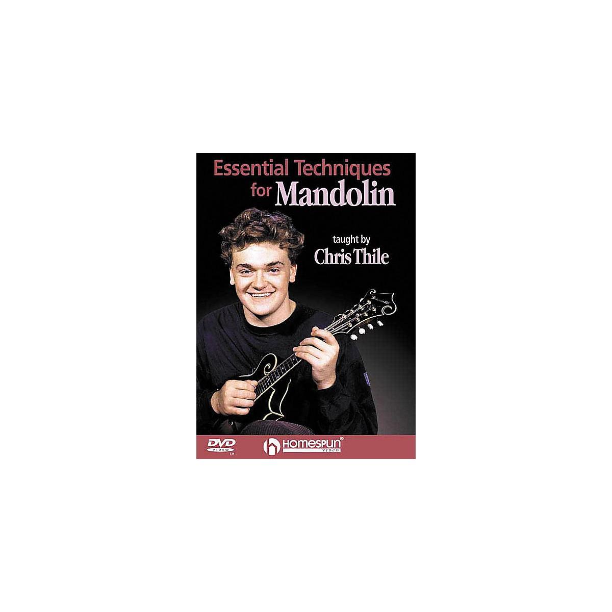 Homespun Essential Mandolin Technique (DVD)