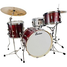 Essential Maple 3-Piece Shell Pack with 22 in. Bass Drum Red Cherry Satin