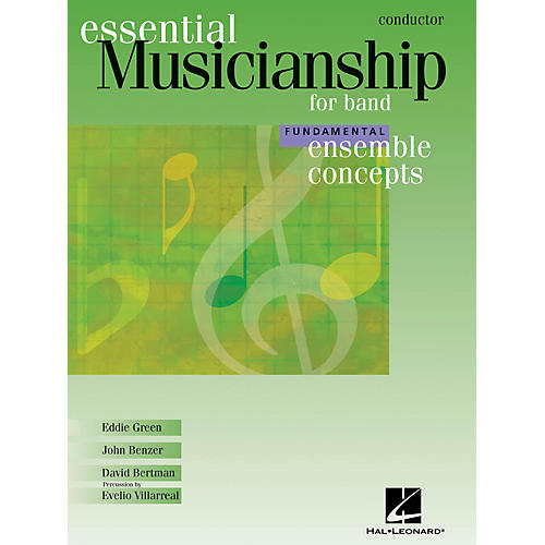 Hal Leonard Essential Musicianship for Band - Ensemble Concepts (Fundamental Level - Conductor) Concert Band