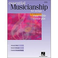 Hal Leonard Essential Musicianship for Strings - Ensemble Concepts Intermediate Viola