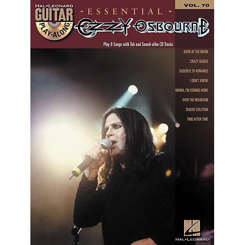 Hal Leonard Essential Ozzy Osbourne - Guitar Play-Along Volume 70 Book/CD